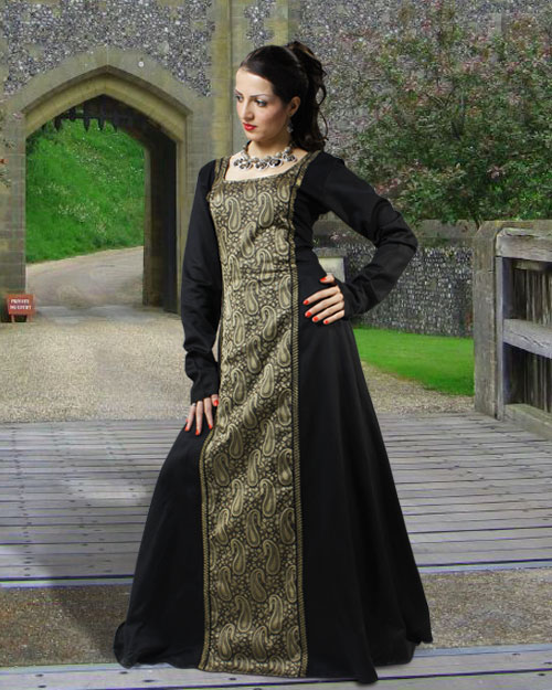 Arabella Cotton Dress Renaissance Dress Medieval Events Clothes from tudordressing.com