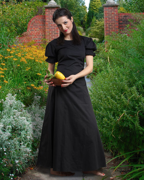Amah Gown Medieval Costumes Clothing, clothes, Dresses