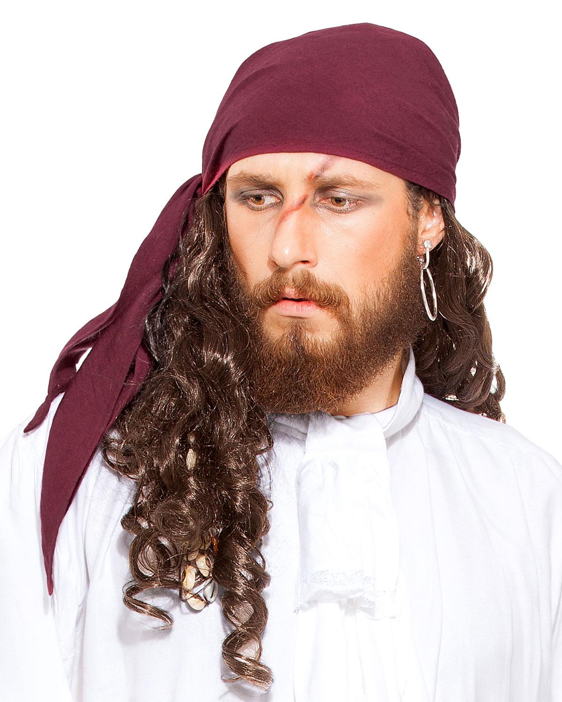 linen triangle pirate bandana pirate scarf belt