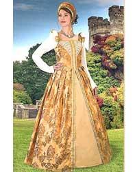 Renaissance Anjou Gown Renaissance Clothing Costumes Dresses